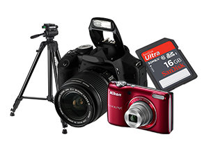 Digital Camera and Accessories